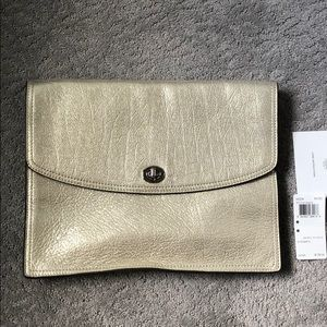 Coach Authentic Leather Universal Clutch
